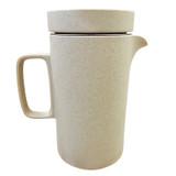 Hasami Porcelain Tall Tea Pot - Matte Natural