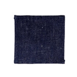 Fog Linen Coasters Set of 6 - Navy Denim