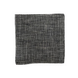 Fog Linen Coasters Set of 6 - Black Houndstooth