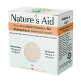 Nature's Aid True Natural Solid Shampoo Bar - Mango Butter & Tangerine