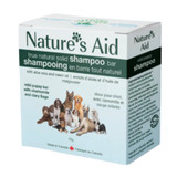 Nature's Aid True Natural Solid Shampoo Bar for Pets