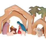 Ostheimer Nativity Stable Small