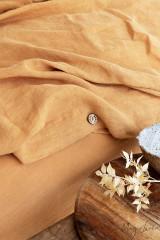 MagicLinen Queen Duvet and Cover Set - Tan