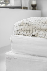 MagicLinen Queen Fitted Sheet - White