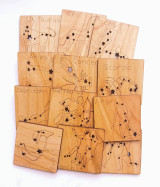 Wooden Constellation Tiles - Zodiac