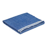Merino/Cashmere Paris Scarf - Oxford Blue