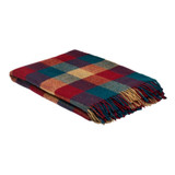 100% Pure Wool Blanket - Pine & Redcurrant