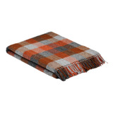 Pure Wool Blanket - Fireside Check