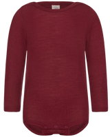 Engel Baby Body Organic Merino Wool/Silk - Burgundy