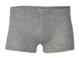 Engel Organic Merino Wool/Silk Men's Boxer Brief - Grey
