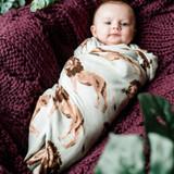 Milkbarn Organic Cotton Swaddle