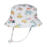 Puffin Gear Cotton Camper Sun Hat - Beep Beep
