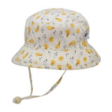 Puffin Gear Organic Cotton Camper Sun Hat - Snail