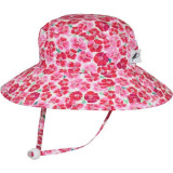 Puffin Gear Cotton Sunbaby Sun Hat - Flower Crush