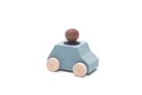 Lubulona Car Grey with Blue Figure