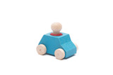 Lubulona Car Turquoise with Red Figure