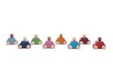 Lubulona 8 Cars with 8 Figures