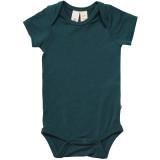 Kyte Baby Bamboo Bodysuit Short in Emerald