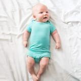 Kyte Baby Bamboo Bodysuit Short in Jade