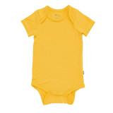 Kyte Baby Bamboo Bodysuit Short in Pineapple