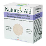 Nature's Aid True Natural Solid Shampoo Bar - Rosemary and Lavender