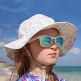 Jan & Jul Floppy Cotton Sun Hat - Coral