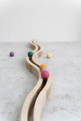Abel Wooden Block Set Natural - 12 pcs