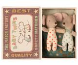 Maileg Baby Mice Twins in Box - Dot Pajamas