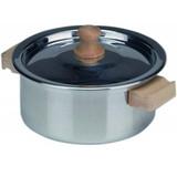Glueckskaefer Aluminium Pot with Lid - 12cm