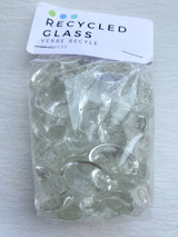 Clear Pebble Glass Beads