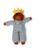 Nanchen Doll Little King Oskar with Crown