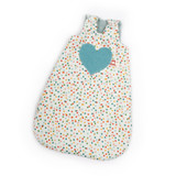 """Nanchen Polka Dot Sleeping Bag with Red Heart for 15 """" Dressable Dolls"""