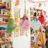 Nanchen Little Silk Cradle Fairy - Blue