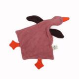 Nanchen Organic Terry Baby Rattle - Wild Goose Rosalie