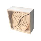 Abel Wooden Block Set Natural - 24 pcs