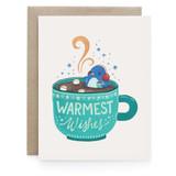 Hot Chocolate Penguin - Greeting Card
