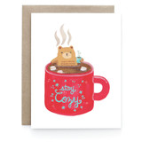 Stay Cozy - Greeting Card