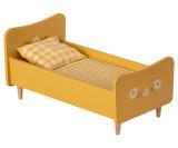 Maileg Bed Mini - Yellow