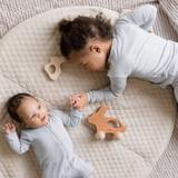 Kyte Baby Bamboo Long Sleeve Toddler Pajamas in Storm