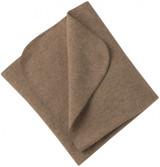 Engel Organic Merino Wool Fleece Baby Blanket - Walnut