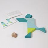 Grimm's Tangram with Template