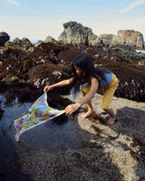 Illustrated Mini Playsilks Kelp Forest