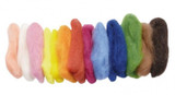 Fairy Tale Felting Wool (Plant Dyed) 50g - Glueckskaefer