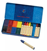 Stockmar Wax Crayons and Blocks Combo