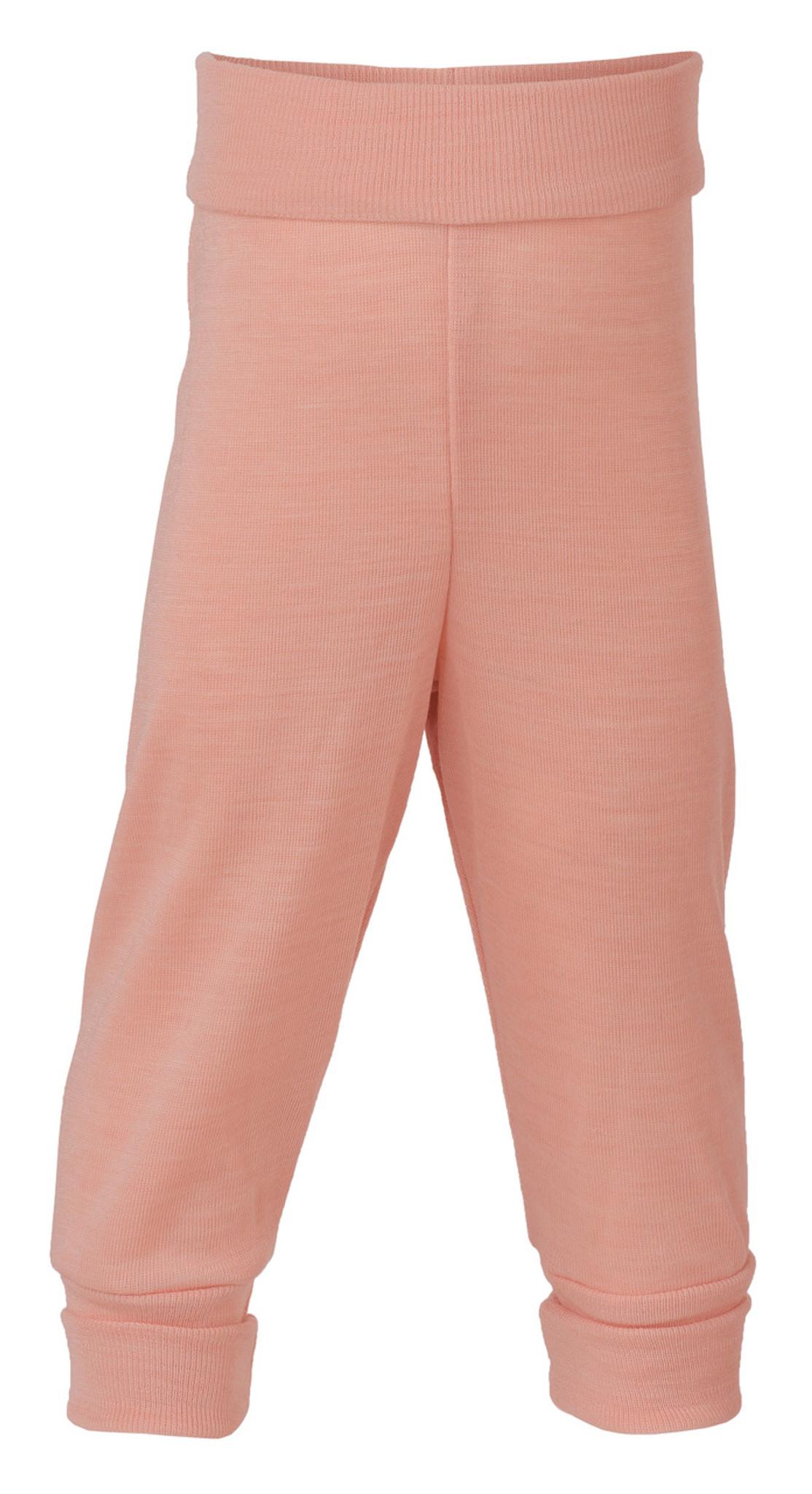 cfce4a6d1e6f Engel Baby Pants with Waistband in Organic Merino Wool Silk Salmon ...
