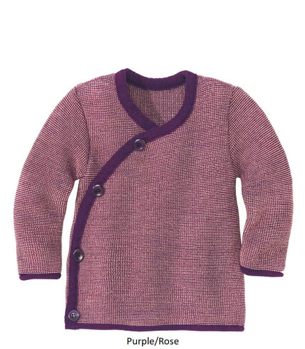 Disana Melange Jacket Plum/Rose