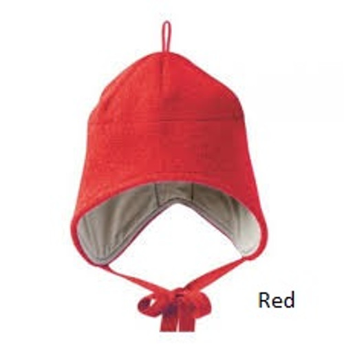 Disana Boiled Wool Hat Red