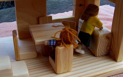 Kitchen Dollhouse Furniture - Wooden Dollhouse Furniture