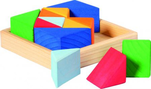 Glueckskaefer Triangle Construction Puzzle