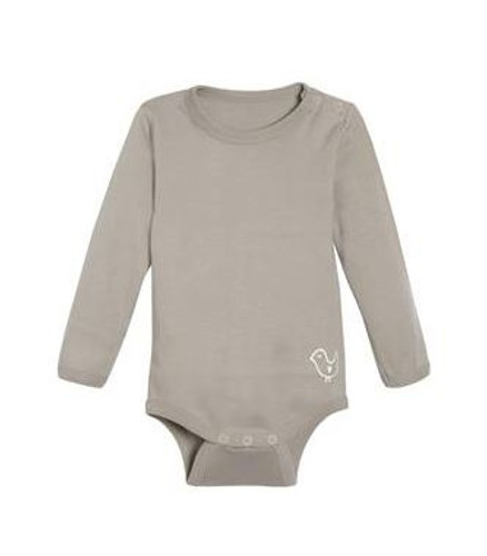 Living Crafts Organic Cotton Long Sleeve Onesie - Earth